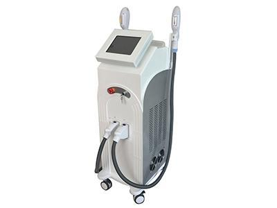 2 Heads IPL Laser Facial Machine for (wrinkle, scar, hair removal, even color, skin toning)